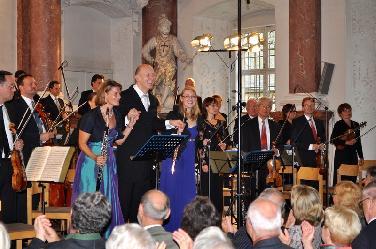 Gerd Schaller dirigiert das Concerto Bergamasco von J. S. Mayr